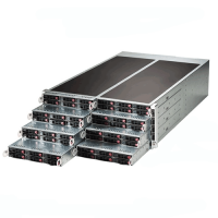 Supermicro 4U Rackmount SuperServer SYS-F618R2-R72PT+ Angle