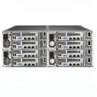 Supermicro 4U Rackmount SuperServer SYS-F618R2-R72PT+ Rear