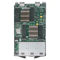 Supermicro Processor Blade SBI-7428R-C3 Top