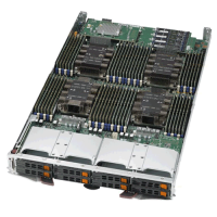 Supermicro 4 Socket Processor Blade SBI-8149P-T8N Angle