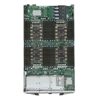 Supermicro 4 Socket Processor Blade SBI-8149P-T8N Top