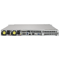 Supermicro Ultra SuperServer SYS-1029U-TR4 Rear