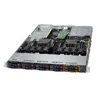 Supermicro Ultra SuperServer SYS-1029UX-LL2-S16 Angle