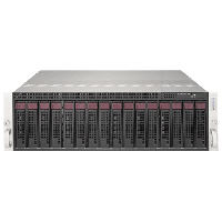 Supermicro 3U MicroCloud SuperServer SYS-5038MR-H8TRF - front
