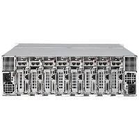 Supermicro 3U MicroCloud SuperServer SYS-5038MR-H8TRF - rear