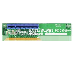 ASRock 1U12LIW RBI Passive PCIE Riser Card