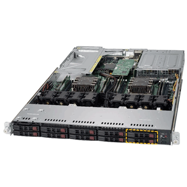 Supermicro UltraServer SYS-1029UX-LL2-S16