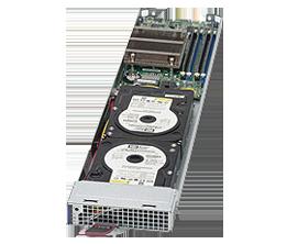 Supermicro MicroBlade MBI-6118D-T2 Server Blade