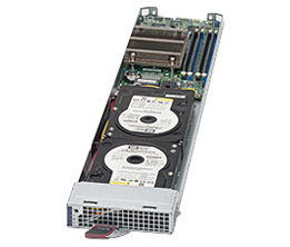 Supermicro MicroBlade MBI-6118D-T2H Server Blade