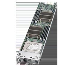 Supermicro MicroBlade MBI-6219G-T Server Blade