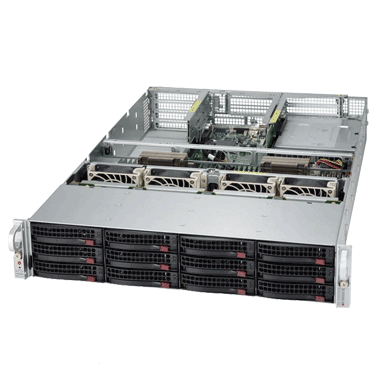 Supermicro UltraServer SYS-6028U-TR4+