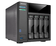 ASUSTOR AS6104T Home Power User NAS