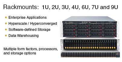 Supermicro Rackmount Servers
