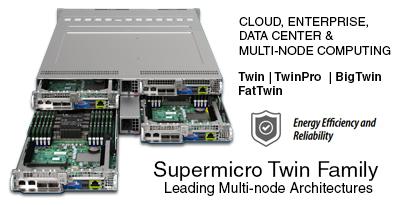 Supermicro TwinFamily Servers