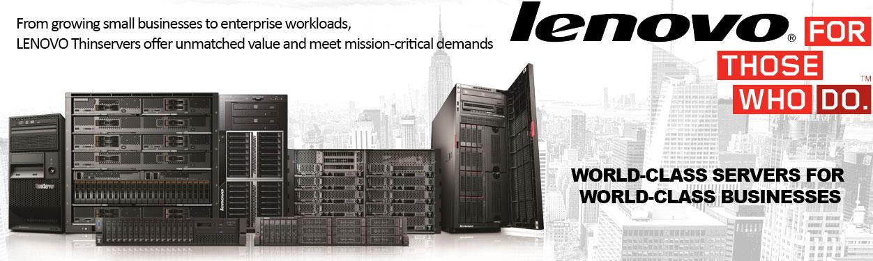 Lenovo ThinkServers, Solutions, Networking, Storage Platforms