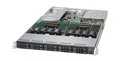 Supermicro 1028U-TR4+ Gaming Server