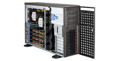 Supermicro 7048GR-TR Gaming Tower