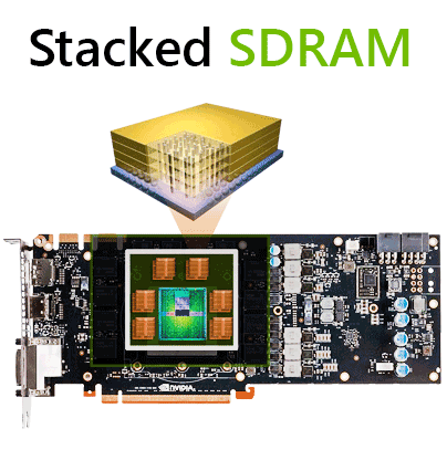NVIDIA Stacked SDRAM