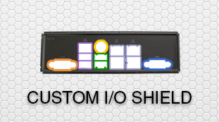 OEM ODM Custom IO Shield Branding