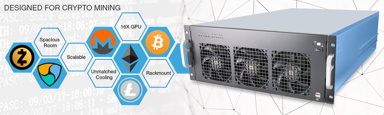 OEM ODM Mining Rig Server Chassis Solution