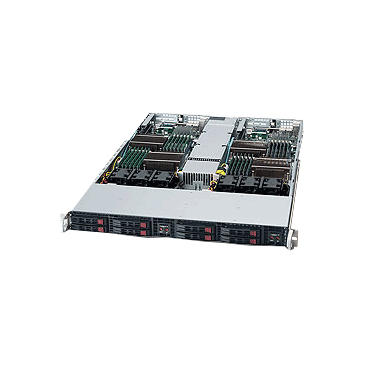 Supermicro 1U Twin Solution 1026TT-IBXF
