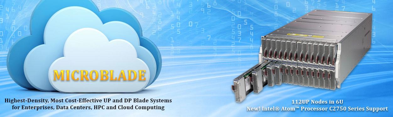 Supermicro MicroBlade Servers