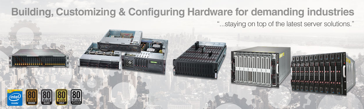 Supermicro Rackmounts, MicroCloud, TwinBlade, FatTwin, Embedded Servers