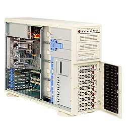 Supermicro A+ AMD Opteron 4U Workstation Tower Server 4020A-8R 4020A-8RB
