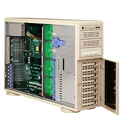 Supermicro A+ AMD Opteron 4U Workstation Tower Server 4021A-T2