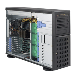 Supermicro A+ AMD Opteron 4U Workstation Tower Server 4022G-6F