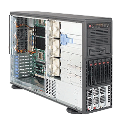 Supermicro A+ AMD Opteron 4U Workstation Tower Server 4041M-32R+B
