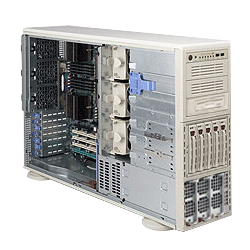 Supermicro A+ AMD Opteron 4U Workstation Tower Server 4041M-T2R 4041M-T2RB