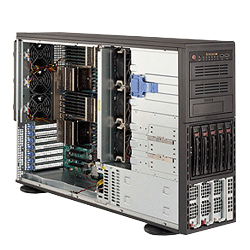Supermicro A+ AMD Opteron 4U Workstation Tower Server 4042G-72RF4