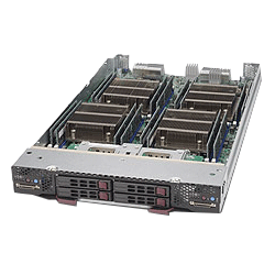 Supermicro Twin Blade Server LGA 2011 SBI-7228R-T2F