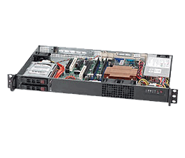 Supermicro Embedded Chassis SC510T-200B