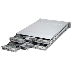 Supermicro Multi Node 2U Twin 2 Servers SYS-6027TR-HTRF