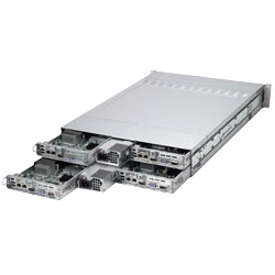 Supermicro Multi Node 2U Twin 2 Servers SYS-6027TR-HTRF+