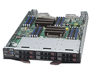 Supermicro Intel TwinBlade 10 Blade SBI-7128R-C6N