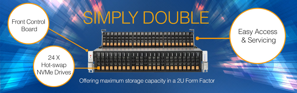 Supermicro 2U Simply Double Storage