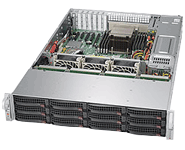 Supermicro Storage Server Platform 6028R-E1CR12H