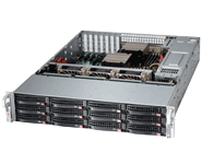 Supermicro Storage Server Platform 6028R-E1CR12T