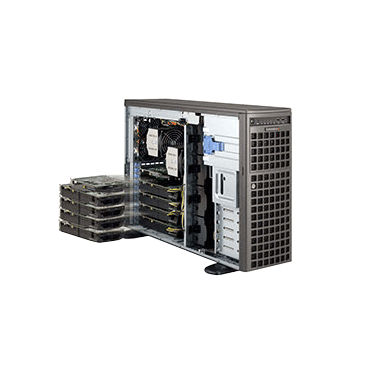 Supermicro SuperWorkstation Server SYS-7047GR-TRF