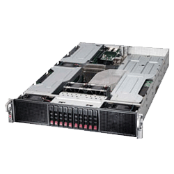 Supermicro 4X 6X Xeon Phi Server Solution SYS-2027GR-TRFH