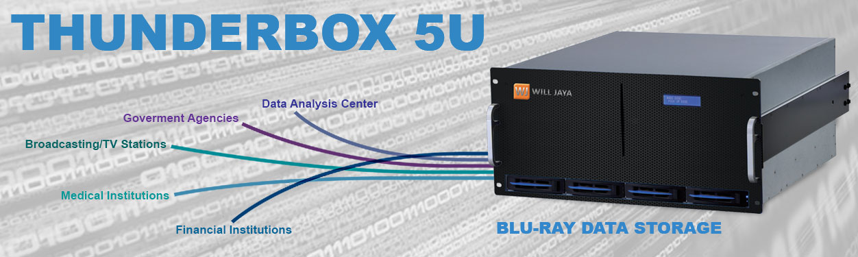Thunderbox 5U Blu-Ray Optical Storage Data Solution