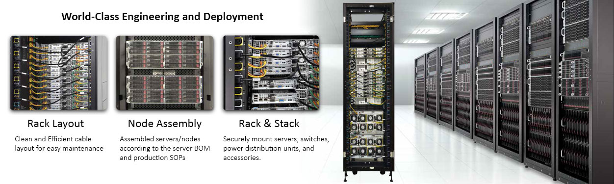Supermicro Rack Integration Turnkey Solution