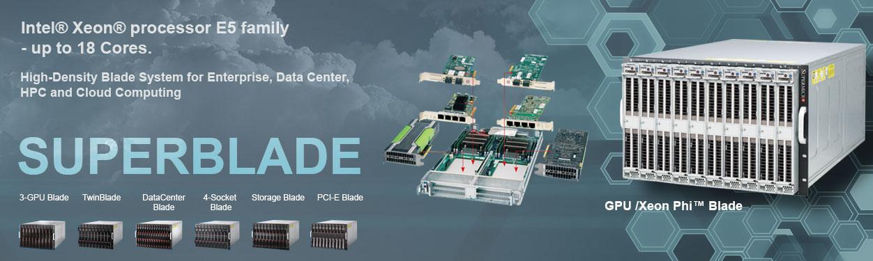 Supermicro TwinBlade® | DatacenterBlade® | StorageBlade Solution