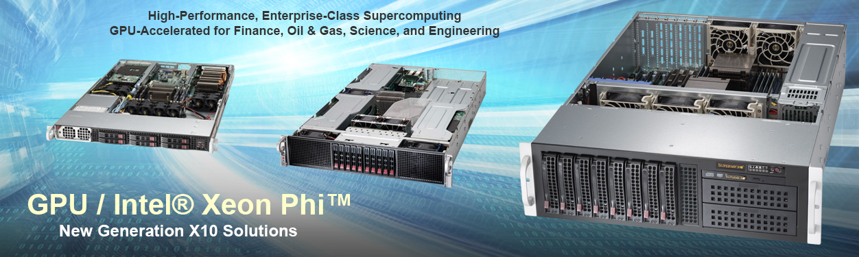 Supermicro GPU Intel Battkle