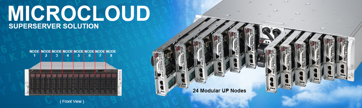 Supermicro MicroCloud Solutions