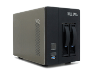 Will Jaya 2-Bay NAS Hybrid Storage