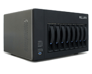 Will Jaya 8-Bay NAS Hybrid Storage
